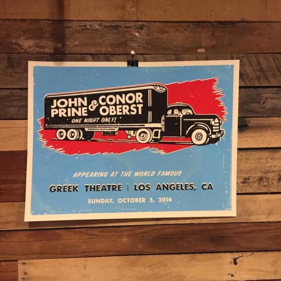 John Prine & Conor Oberst at Orpheum Theater - Omaha