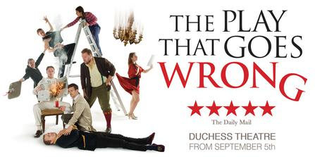 The Play That Goes Wrong  at Orpheum Theater - Omaha