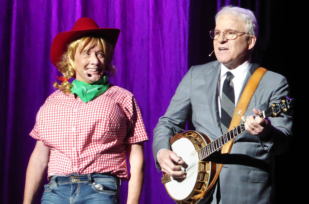 Steve Martin & Matin Short at Orpheum Theater - Omaha