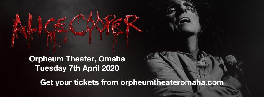 Alice Cooper at Orpheum Theater - Omaha