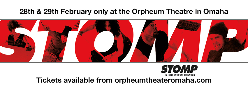 Stomp at Orpheum Theater - Omaha