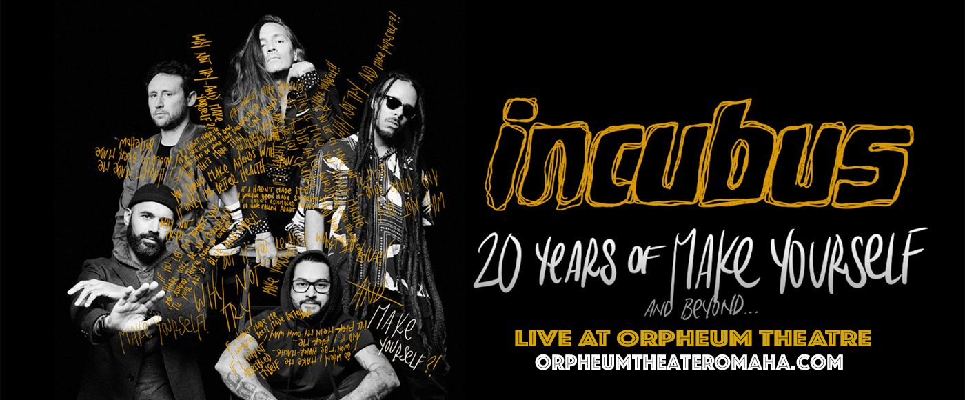 Incubus at Orpheum Theater - Omaha