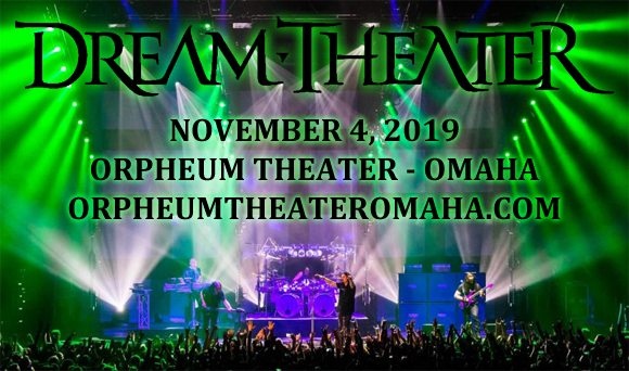 Dream Theater at Orpheum Theater - Omaha