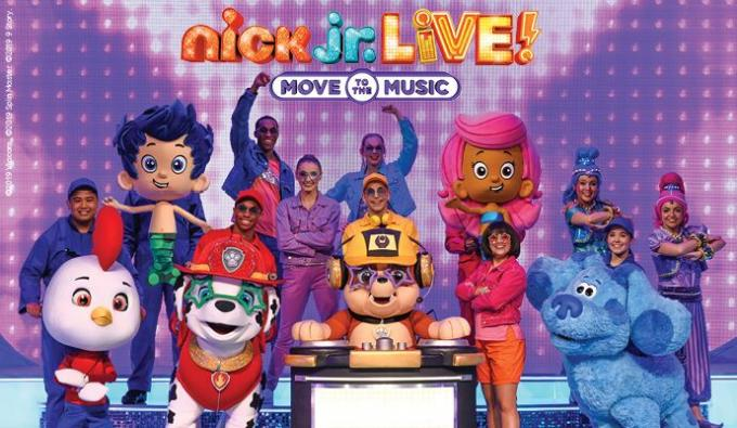 Nick Jr. Live! Move to the Music at Orpheum Theater - Omaha