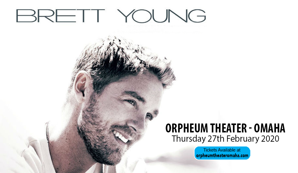 Brett Young at Orpheum Theater - Omaha