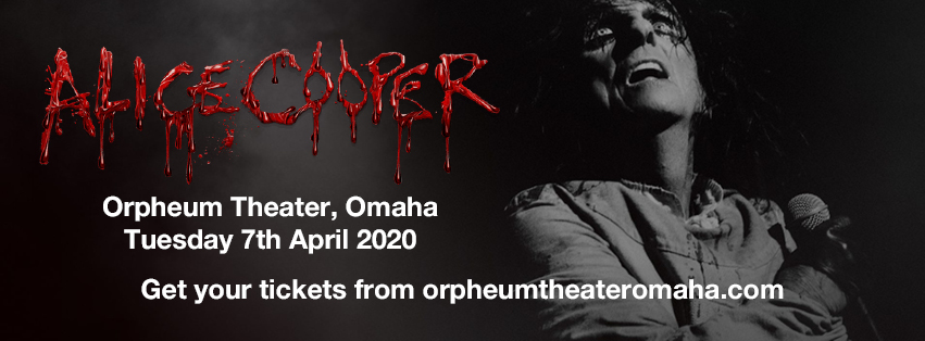 Alice Cooper [CANCELLED] at Orpheum Theater - Omaha