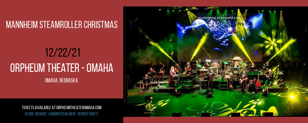Mannheim Steamroller Christmas at Orpheum Theater - Omaha