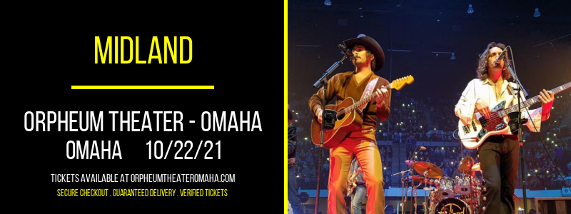Midland at Orpheum Theater - Omaha