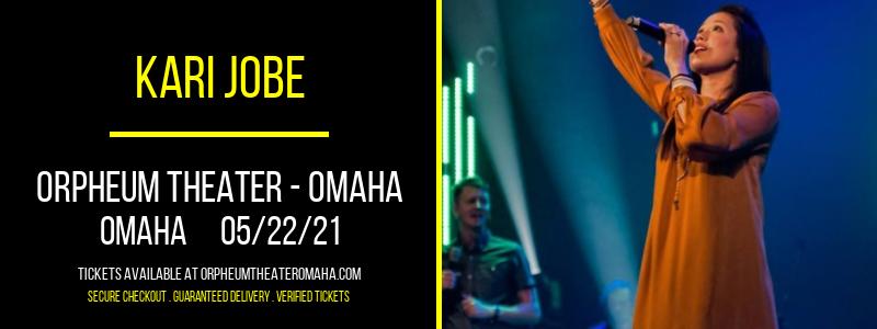 Kari Jobe at Orpheum Theater - Omaha
